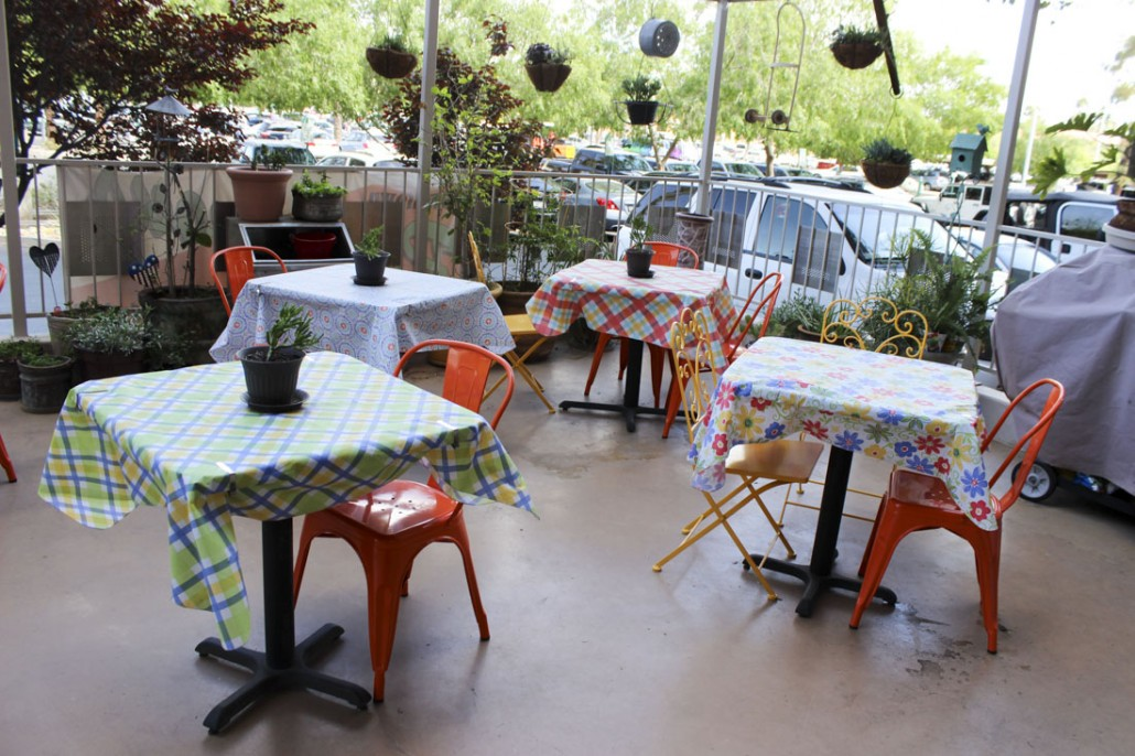 Rendezvous Restaurant's patio