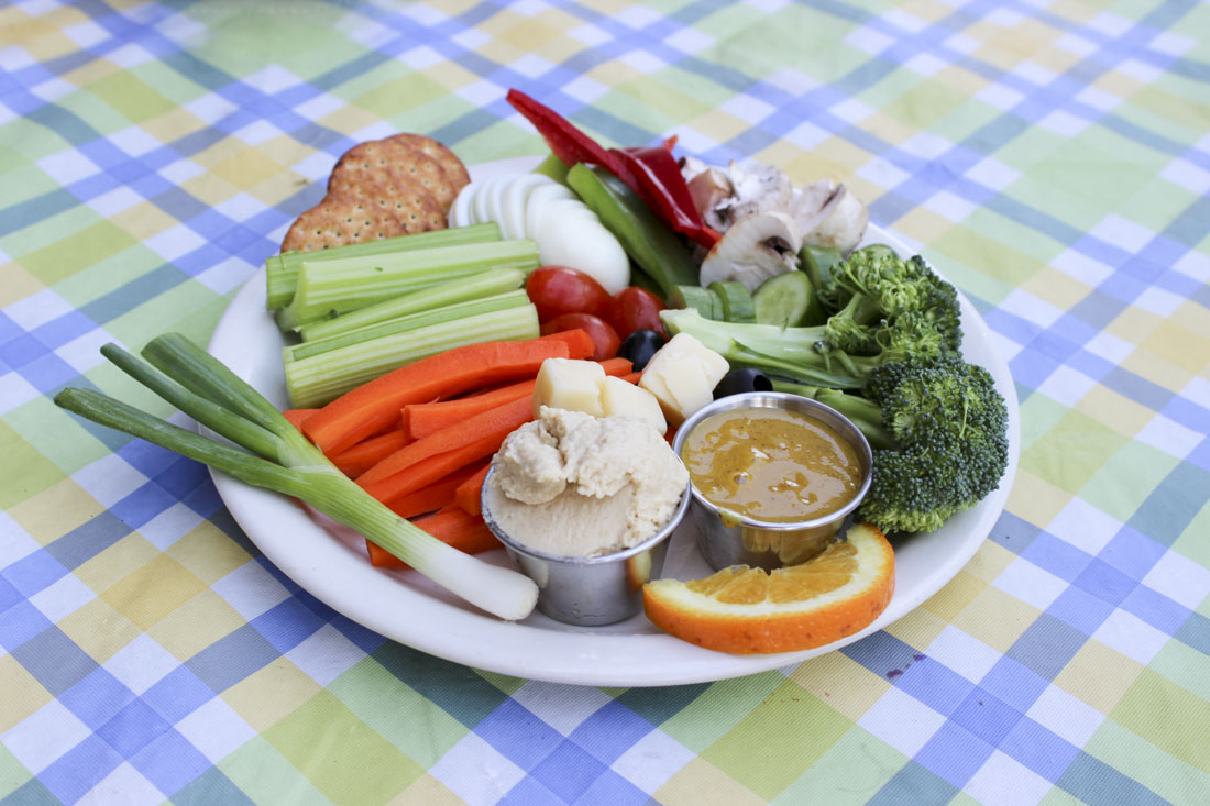 Crudites at Rendezvous Restaurant